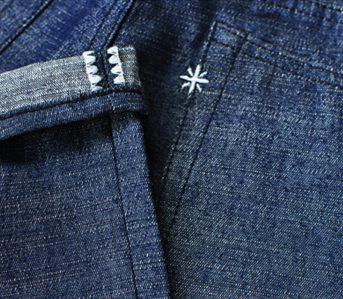 Sage's-13oz.-Light-Indigo-Rover-Denim-Jeans-Have-Got-Their-Slub-Sideways-leg-selvedge