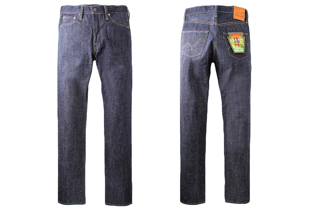 Samurai-Jeans-S0500XX-Raw-Denim-Jeans-front-back