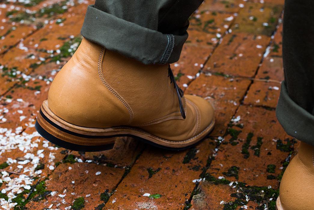 Viberg's-Latest-Service-Boot-Serves-Up-Lightly-Toasted-Reindeer-model-back-walk