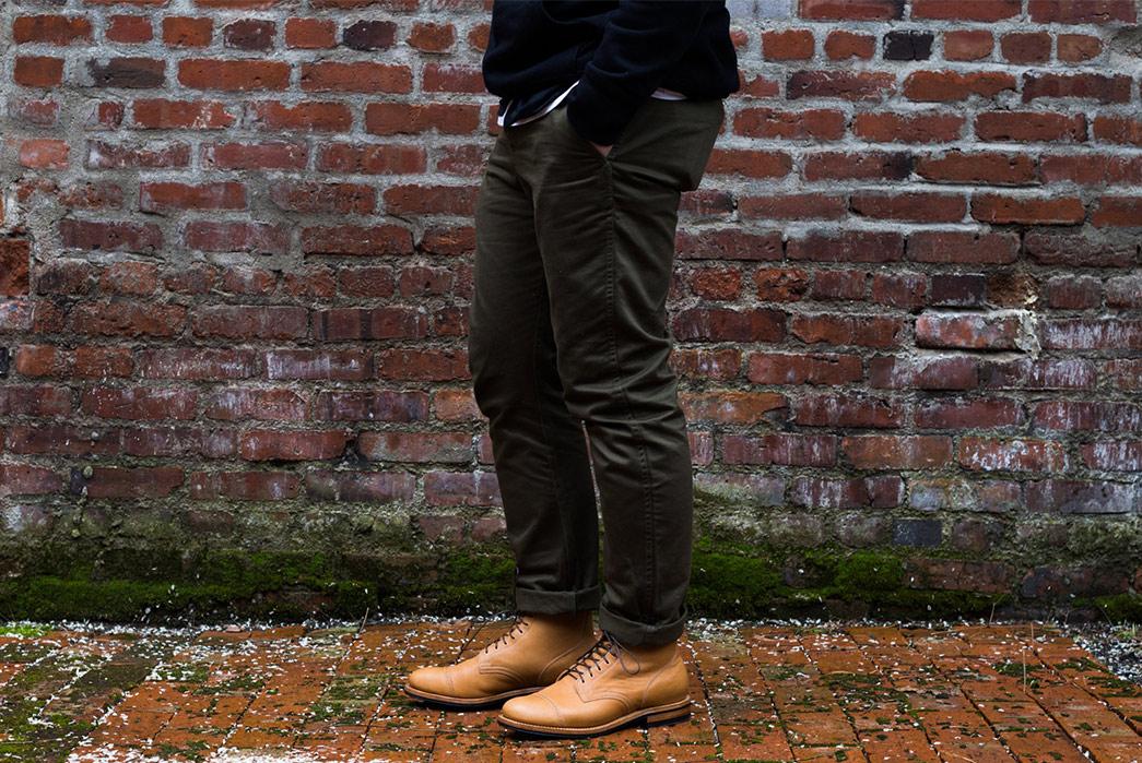 Viberg's-Latest-Service-Boot-Serves-Up-Lightly-Toasted-Reindeer-model-full-legs-front-up-side