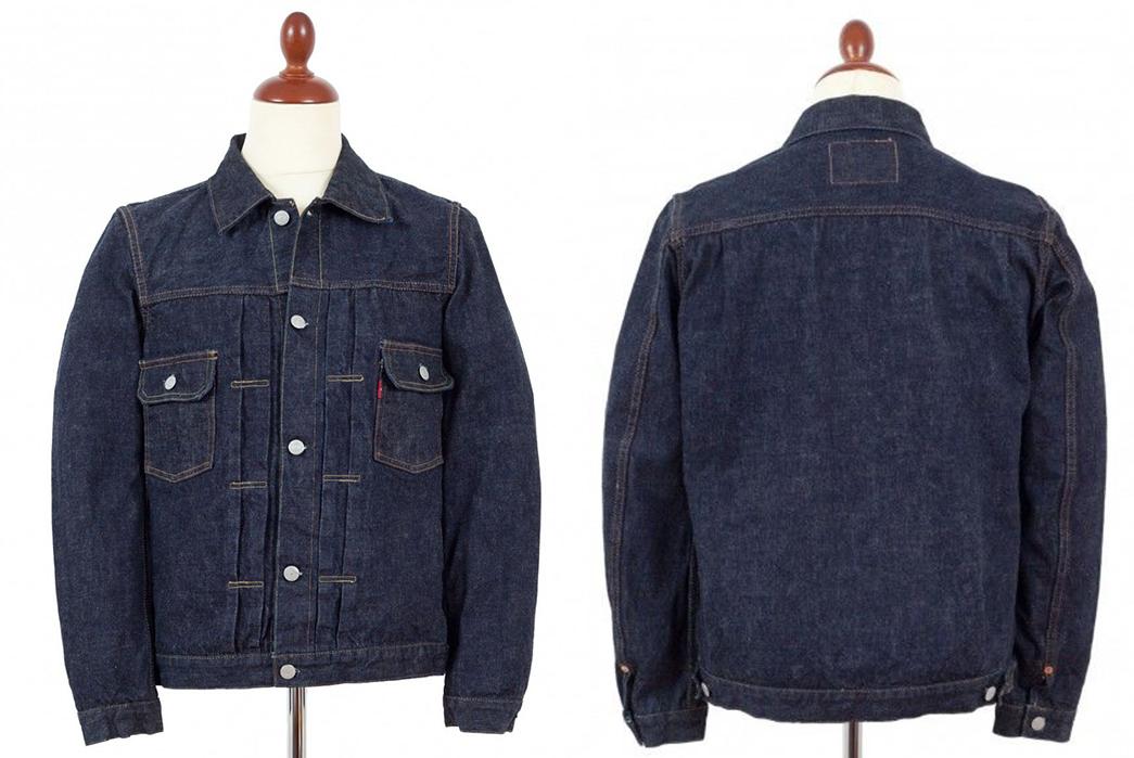 TCB-Jeans-'50s-Type-II-Raw-Denim-Jacket-front-back