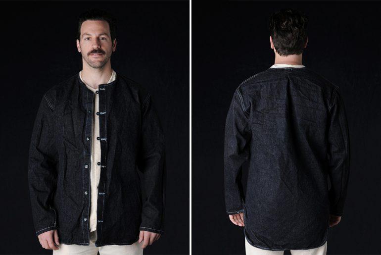 Tender-Softened-Denim-Edited-Tail-Jacket-model-front-back</a>