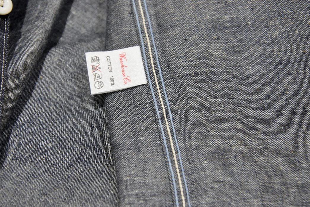 Warehouse-8.5oz-Nep-Denim-Workshirt-inside-label