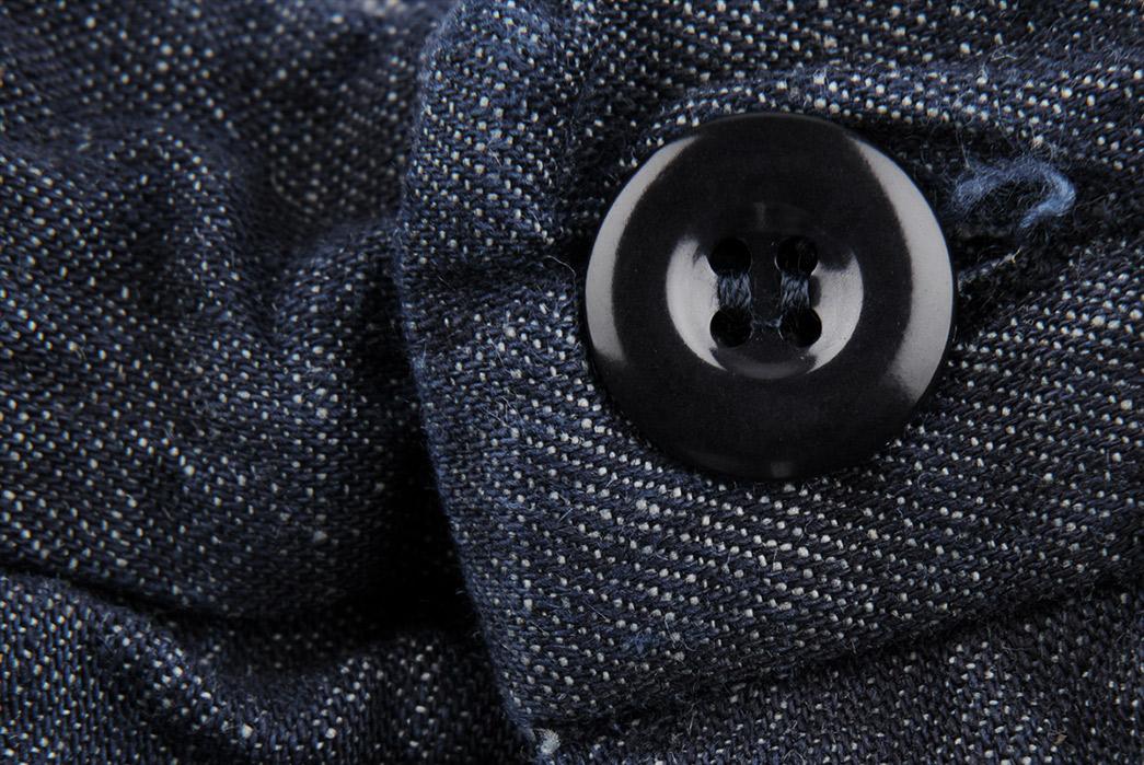 Arpenteur-Cotton-Linen-Denim-Service-Pant-button