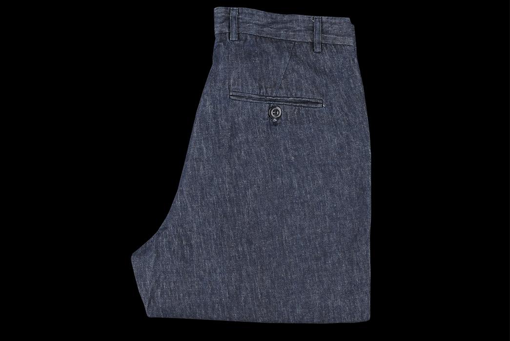 Arpenteur-Cotton-Linen-Denim-Service-Pant-folded