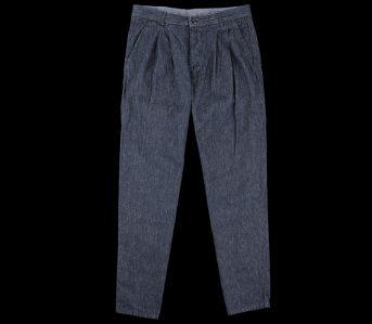 Arpenteur-Cotton-Linen-Denim-Service-Pant-front