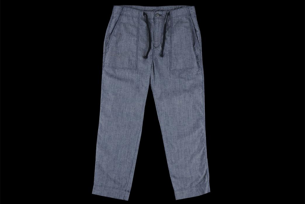 Chambray-Pants---Five-Plus-One-1)-Save-Khaki-Homework-Garden-Pant-front