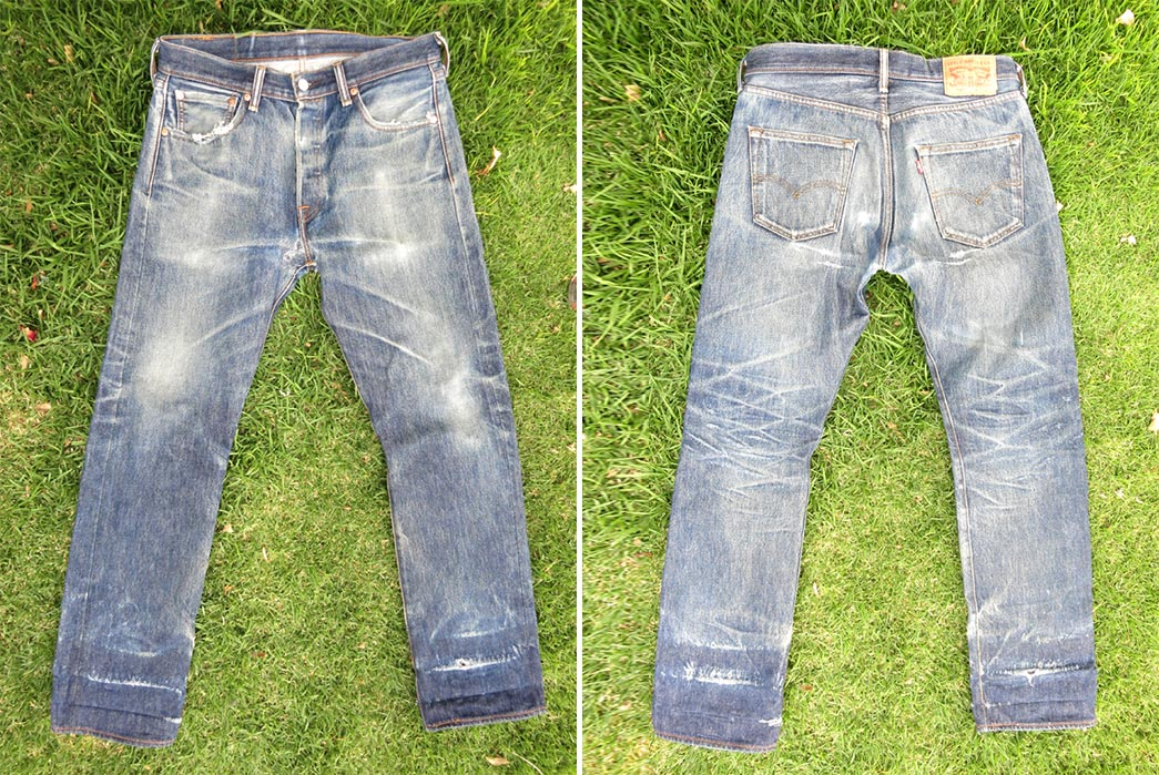 Fade-of-the-Day---Levi's-501-STF-(3-Years,-3-Washes,-2-Soaks)-front-back