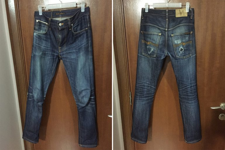 Fade-of-the-Day---Nudie-Jeans-Thin-Finn-(7-Months,-1-Wash,-1-Soak)-front-back</a>