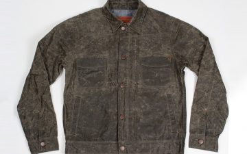Freenote-Cloth's-Newest-Waxed-Riders-Jacket-is-Another-Reason-to-Save-the-Bees-front