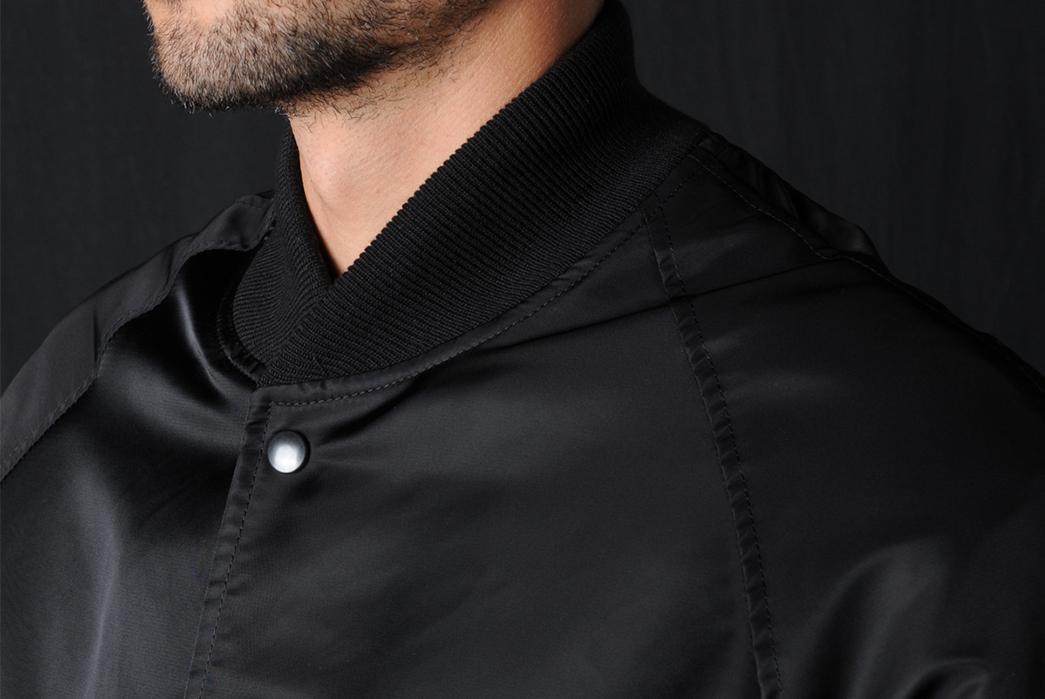Golden-Bear-x-Unionmade-Raglan-Varsity-Jacket-front-top-model