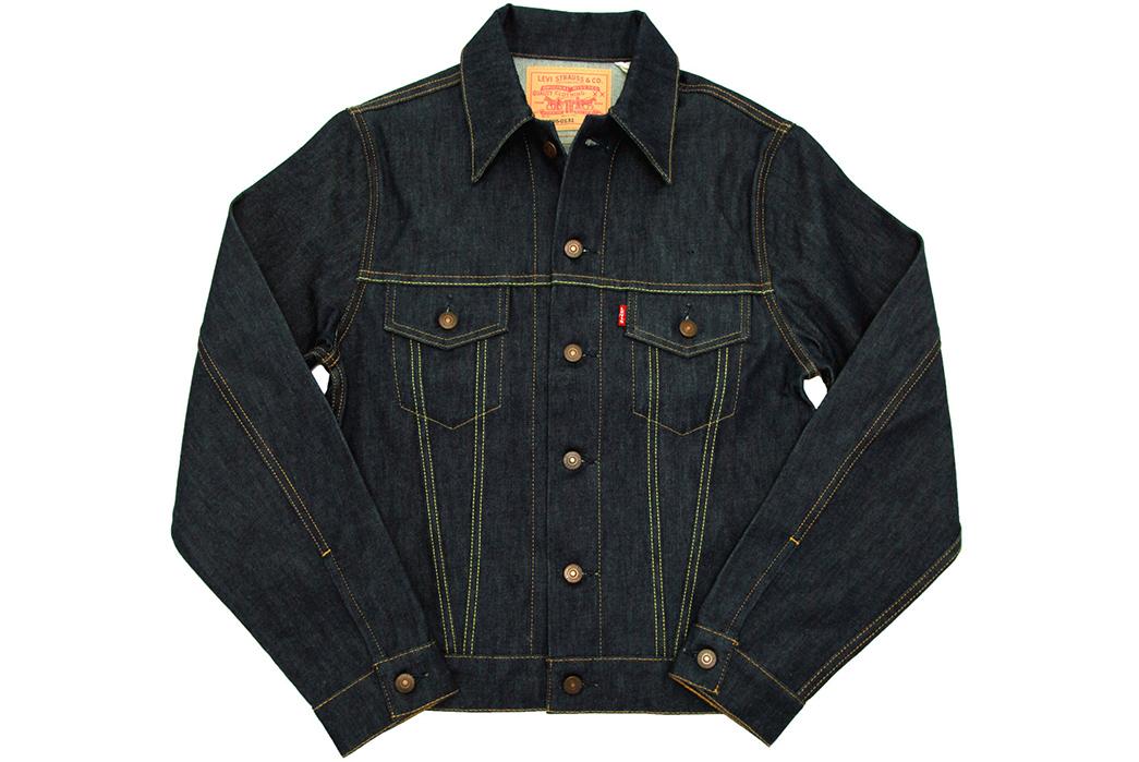 Indigo-Type-III-Jackets---Five-Plus-One-2)-Levi's-Vintage-Clothing-1967-TYPE-III-Jacket-front