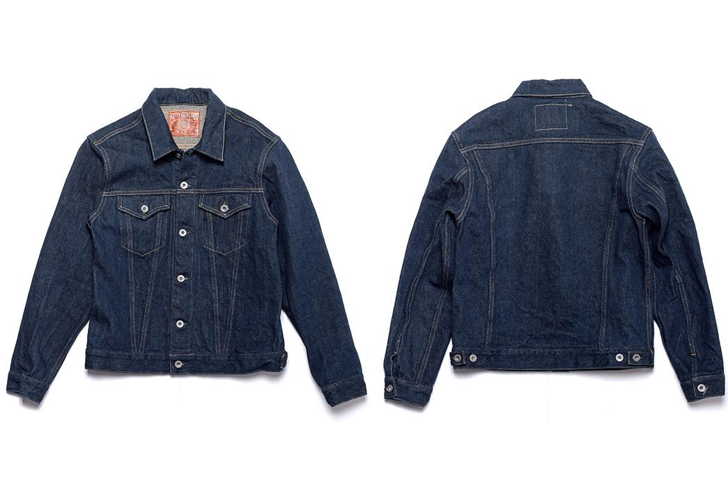 Indigo-Type-III-Jackets---Five-Plus-One-Indigo-Type-III-Jackets---Five-Plus-One-3)-Oni-2527ZR-20oz-Secret-Denim-Jacket-front-back