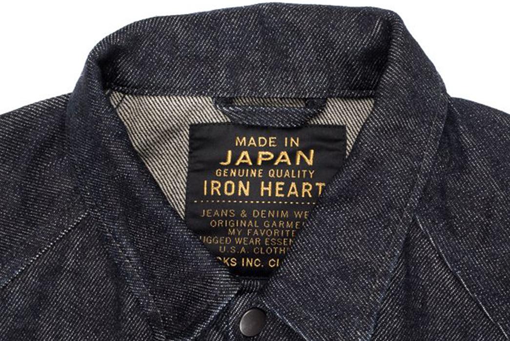 Iron-Heart-IHJ-60-21oz.-Selvedge-Denim-Windbreaker-collar