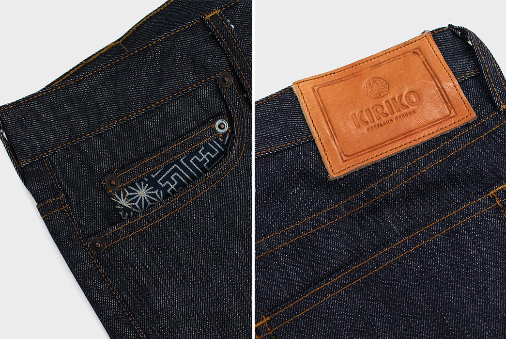 Kiriko-Fuses-Traditional-Japanese-Fabrics-With-Traditional-American-Denim-front-right-pocket-and-back-leather-patch