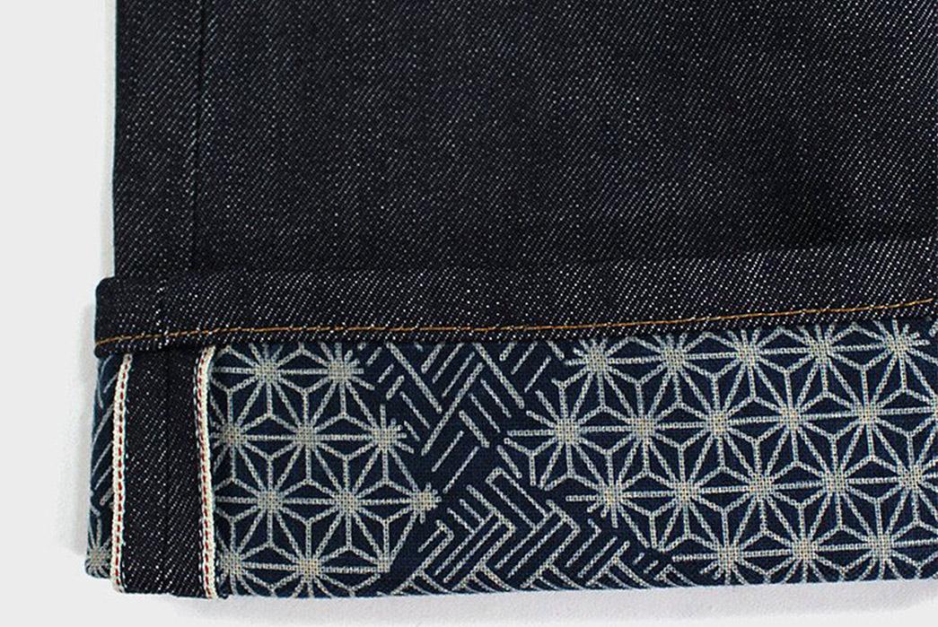 Kiriko-Fuses-Traditional-Japanese-Fabrics-With-Traditional-American-Denim-leg-selvedge