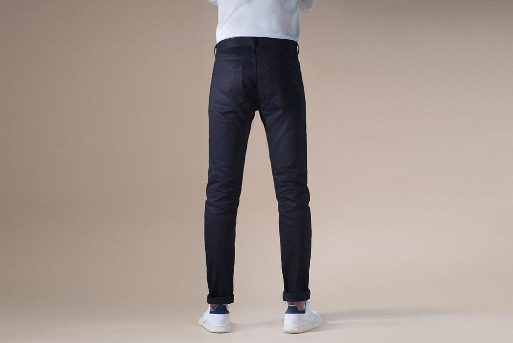 Noble-Denim-Goes-Tonal-With-Italian-All-Indigo-Selvedge-Small-Batch-Jeans-earnest-model-back