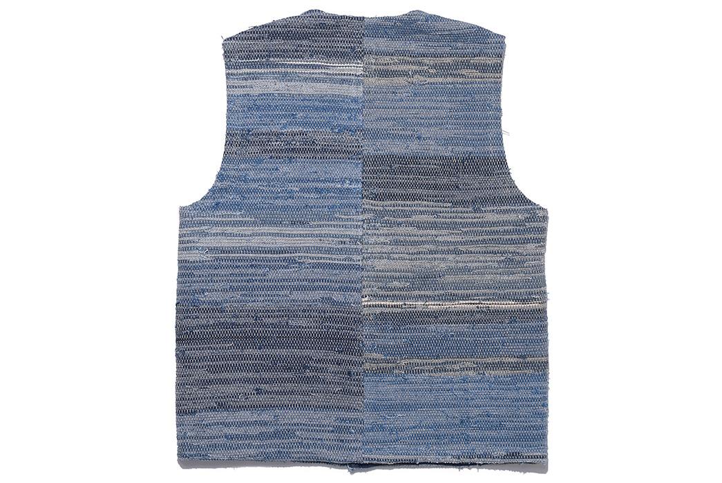 orSlow's-Super-Thick-Indigo-Sakiori-Vest-back