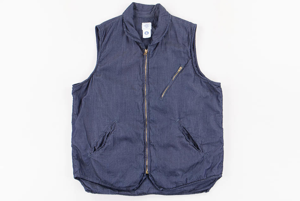 Post-Overalls'-Latest-E-Z-Cruz-Vest-is-Made-of-Denim-That-Weighs-Only-3oz.-front