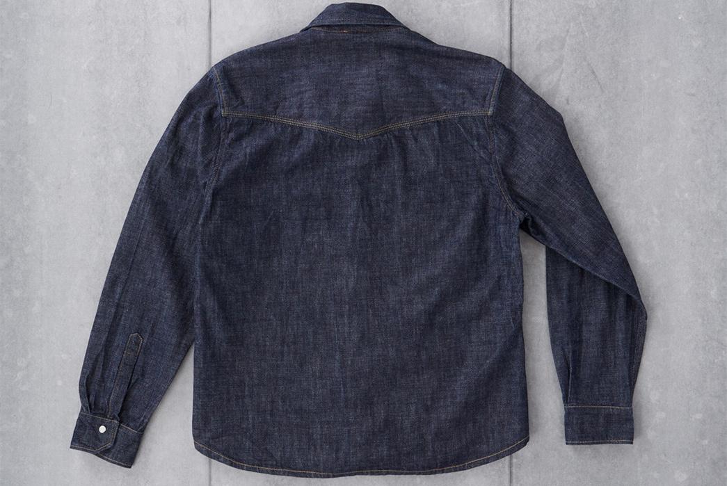 Shockoe-Atelier-Selvedge-Denim-Western-Shirt-back