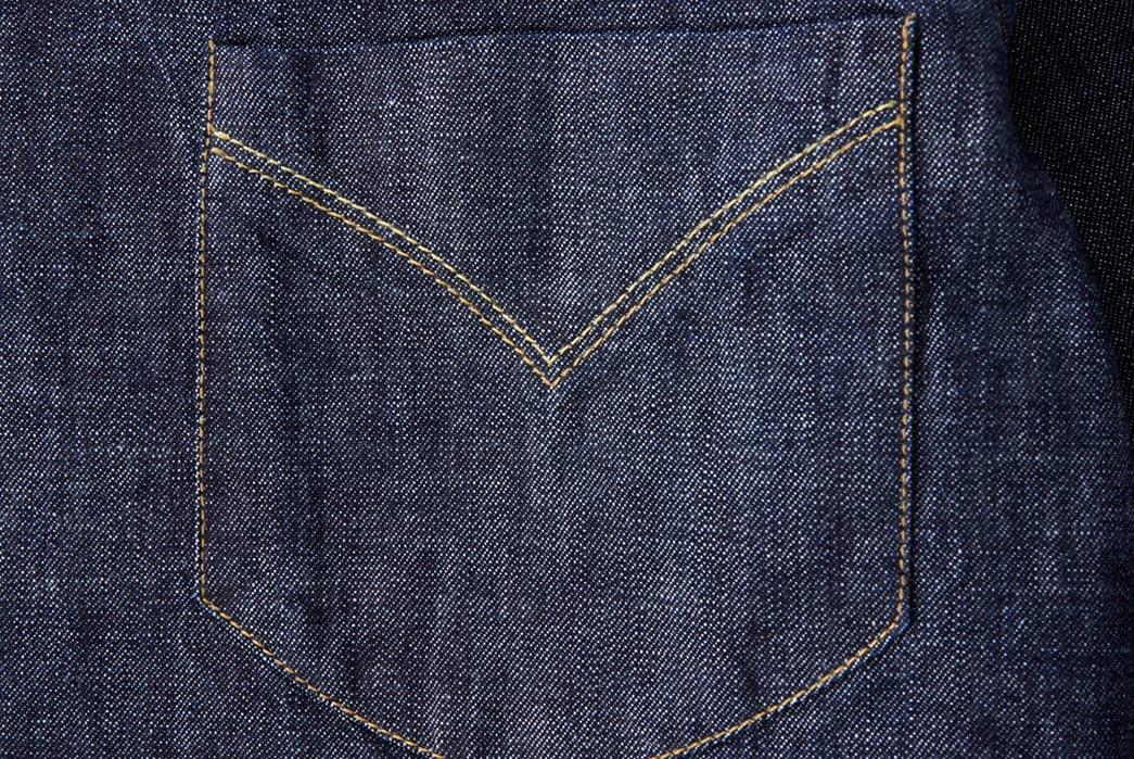 Shockoe-Atelier-Selvedge-Denim-Western-Shirt-front-pocket