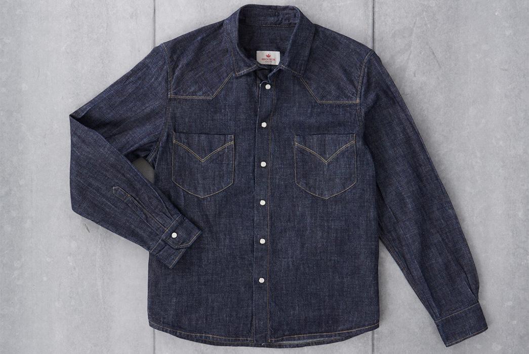 Shockoe-Atelier-Selvedge-Denim-Western-Shirt-front