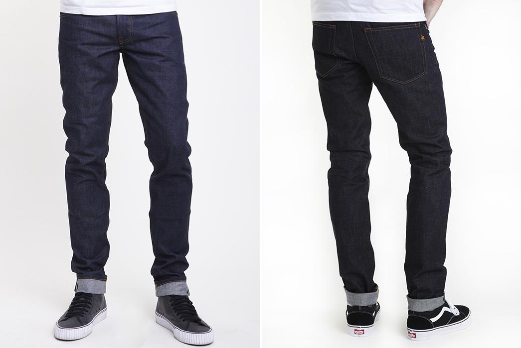 Bravestar-18.5-oz.-Slim-Taper-Raw-Denim-Jeans