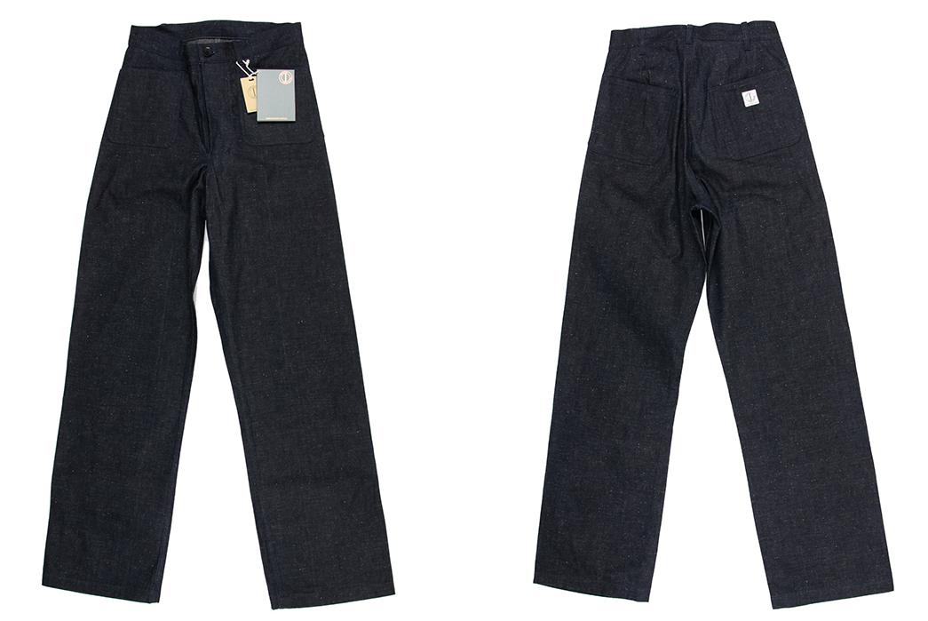 Dawson-Denim's-DD05-Deck-Pants-Use-Selvedge-Denim-But-Have-No-Side-Seams-front-back