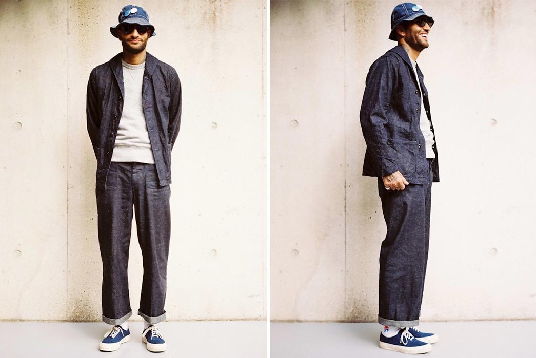 Dawson-Denim's-DD05-Deck-Pants-Use-Selvedge-Denim-But-Have-No-Side-Seams-model-front-side