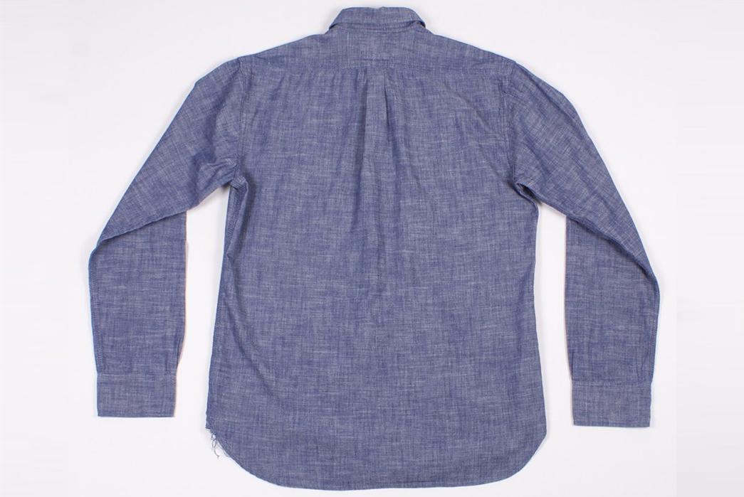 Dickies-1922-x-NAQP-Japanese-Selvedge-Chambray-Work-Shirt-back