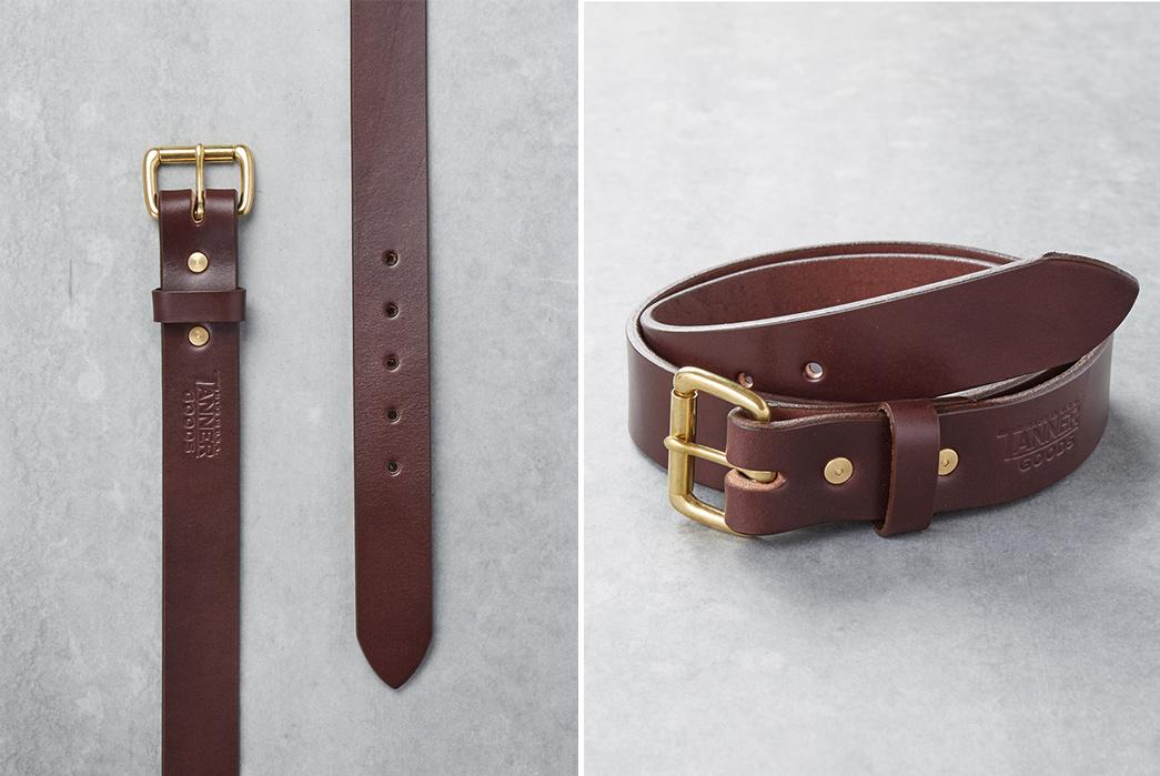 Division-Road-x-Tanner-Goods-Havana-Collection-brown-belt-2