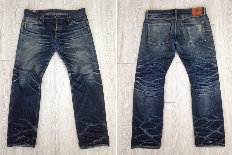 Fade-Friday---Oni-X-Samurai-Jeans-277X-(11-Months,-5-Soaks)-front-back