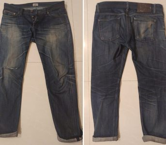 Fade-of-the-Day---Naked-&-Famous-Weird-Guy-(3.5-Years,-3-Washes,-Unknown-Soaks)-front-back