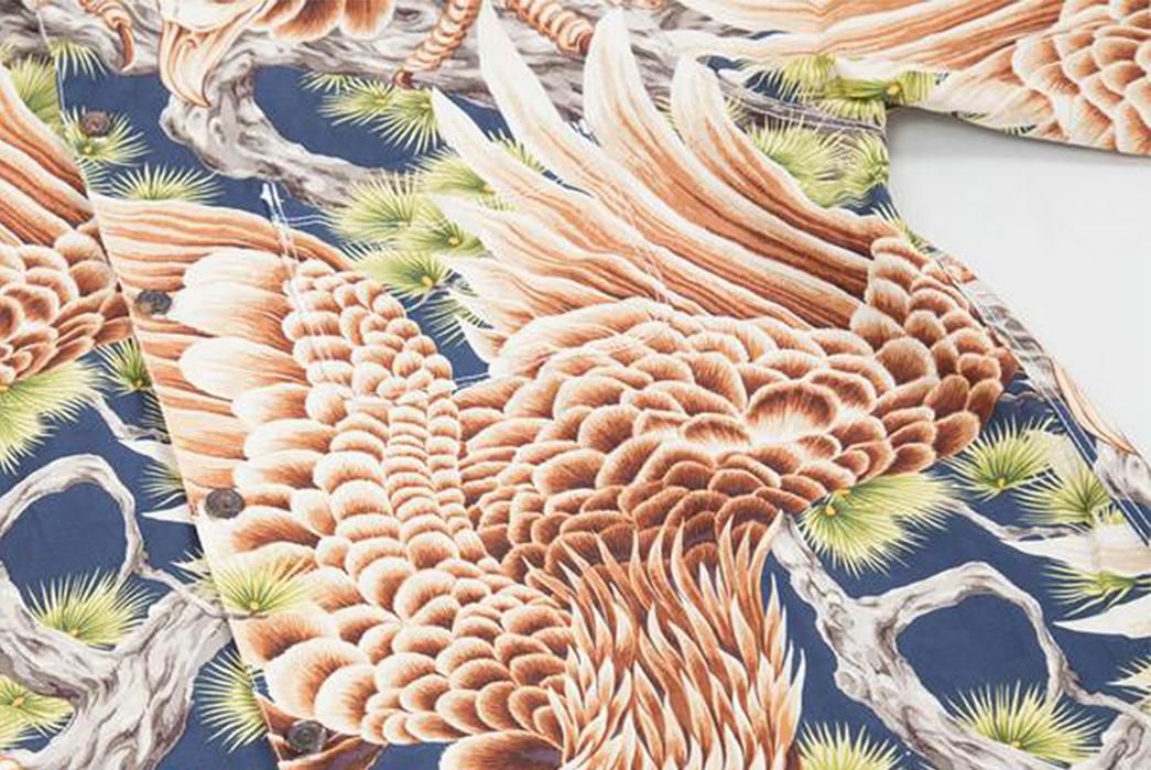 Freenote-Cloth-Gets-Grim-With-Their-Death-Eagle-Hawaiian-Shirt-detailed