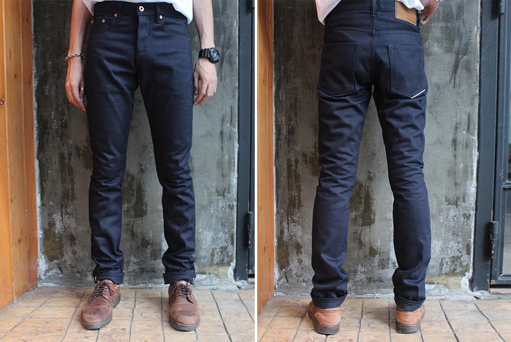 Indigo-x-Black-Selvedge-Jeans---Five-Plus-One-3)-Nama-NP004