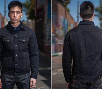 Iron-Heart's-Overdyed-Modified-Type-III-Jacket-Fades-to-Indigo-model-front-back