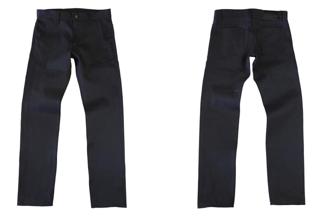 Railcar-Fine-Goods-X035-Double-Black-Selvedge-Flight-Trousers-front-back