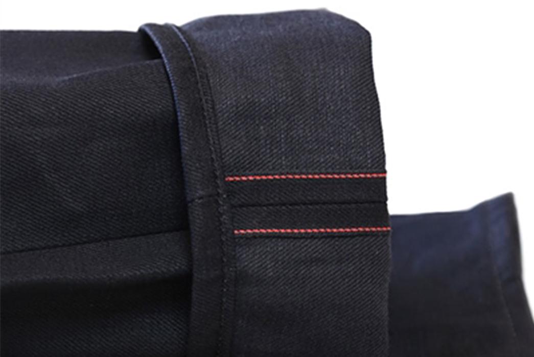Railcar-Fine-Goods-X035-Double-Black-Selvedge-Flight-Trousers-leg-selvedge