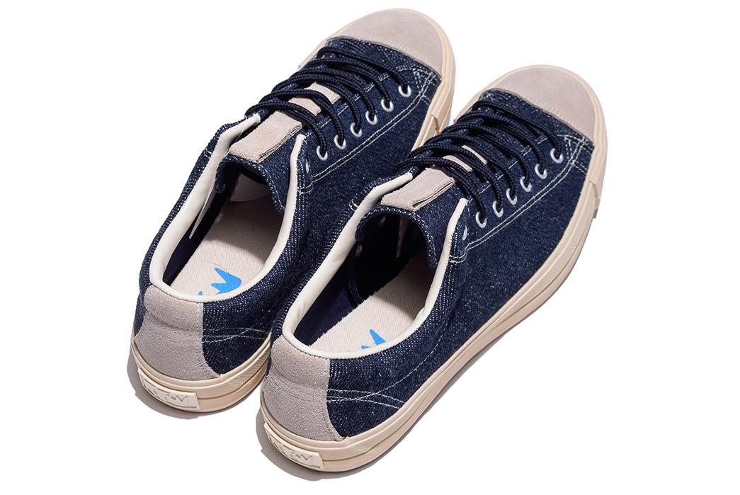RFW-Puts-Okayama-Denim-on-Their-Bagel-Lo-Sneakers-pair-back-top