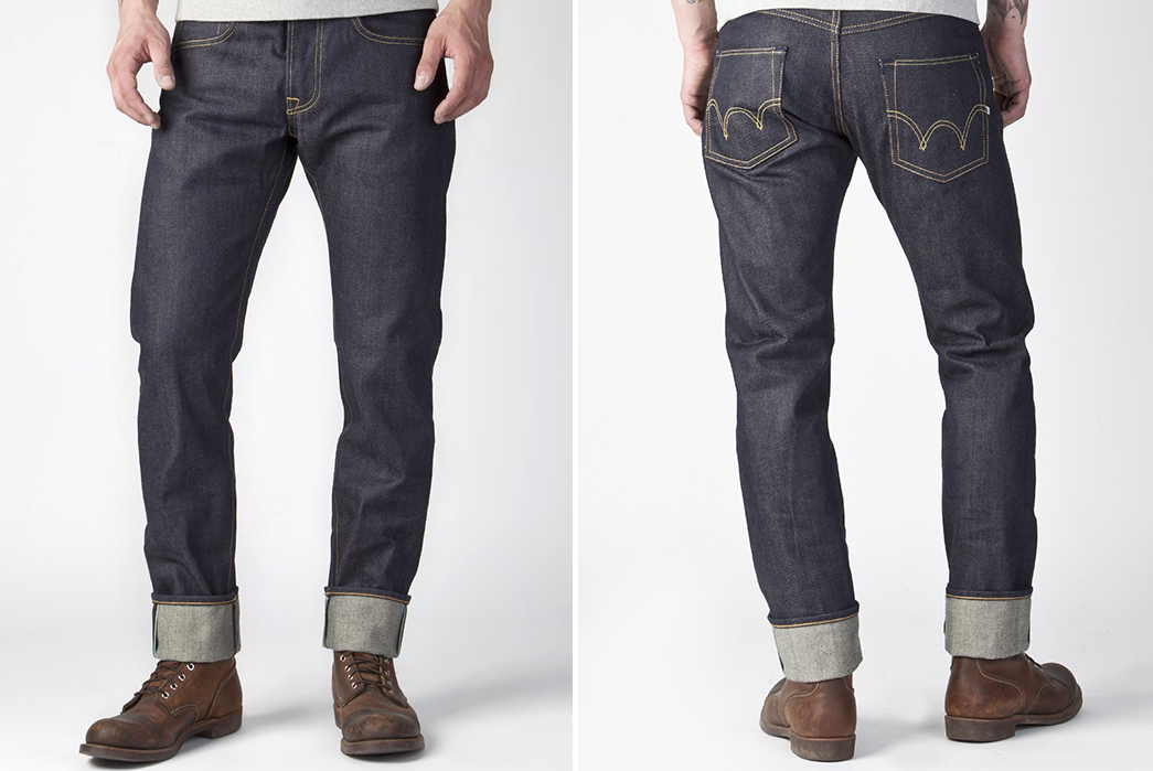 Rise,-Yoke,-and-Inseam---A-Raw-Denim-Anatomy-and-Terminology-Overview-Edwin-ED-55-Tapered-Jeans.-Images-via-Cultizm