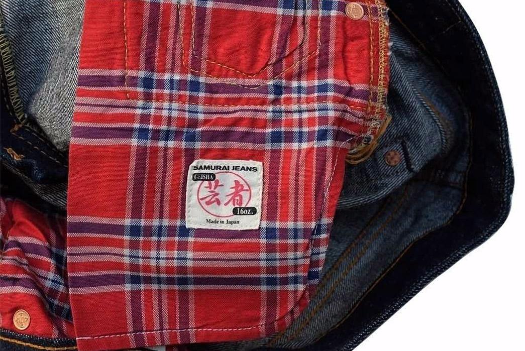 Samurai's-GA510LXXII-Geisha-16oz.-Selvedge-Jeans-are-Geared-Towards-the-Gals-pocket bag
