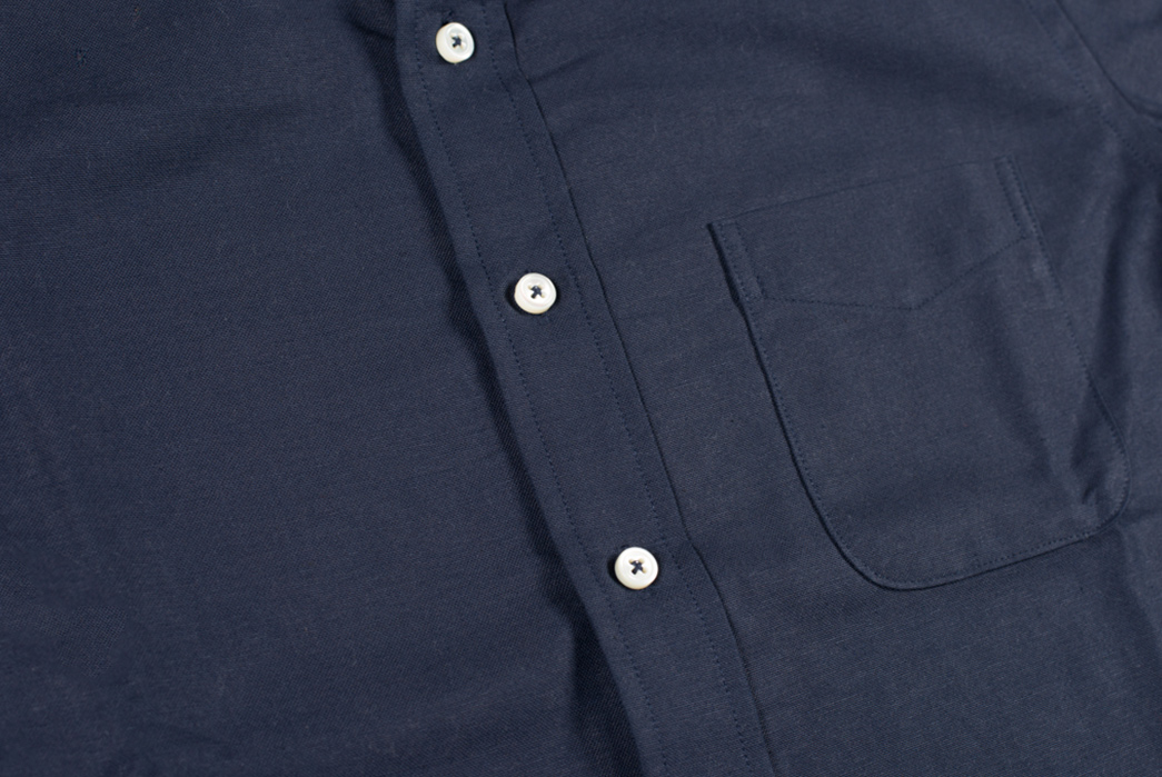 Stevenson-Overall-Co.-Old-Ivy-Indigo-Dyed-Oxford-Shirt-front-buttons