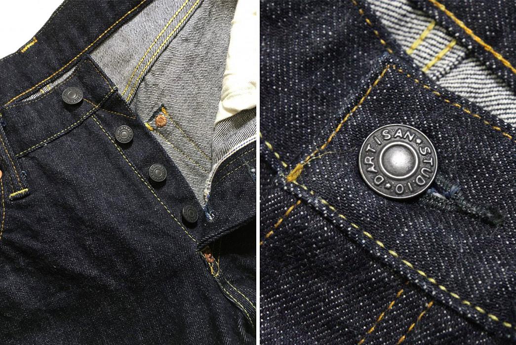 Studio-D'artisan-x-Denimio-DM-002-Contest-Edition-Jeans-front-top-buttons