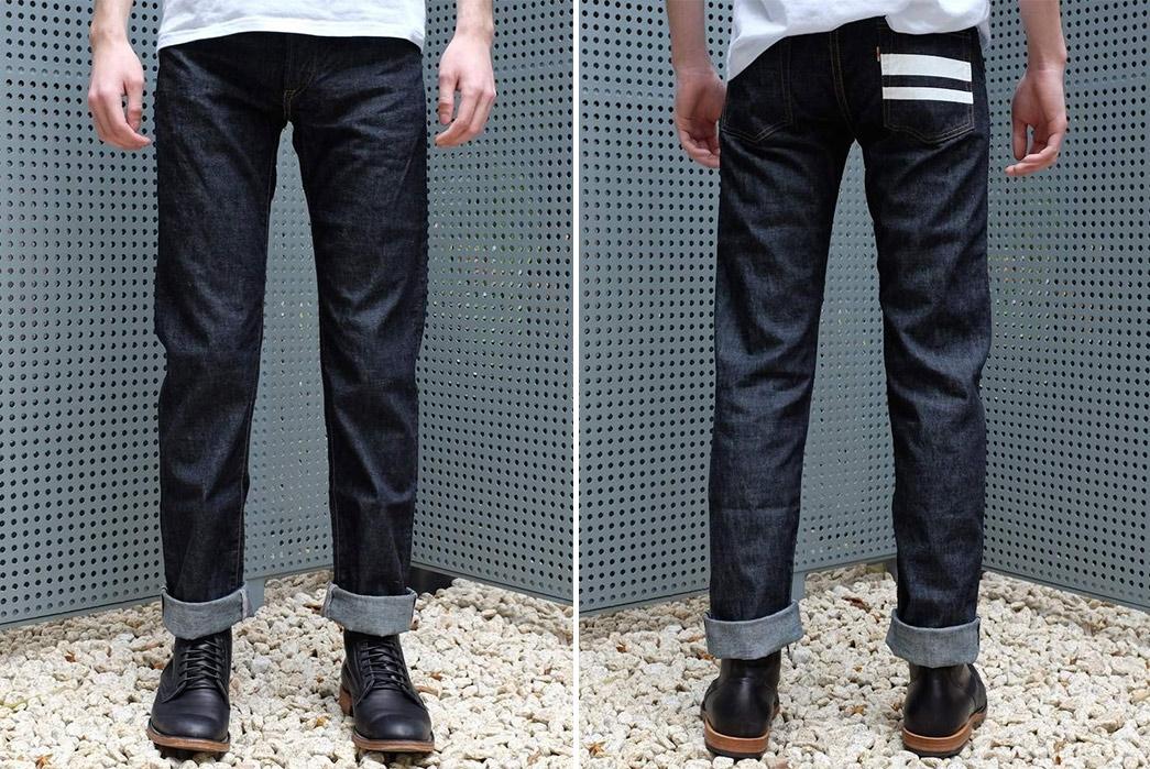 Summer-Weight-Raw-Denim-Jeans---Five-Plus-One-3)-Momotaro-1705SP-Slim-Tapered-10Oz.-Selvedge