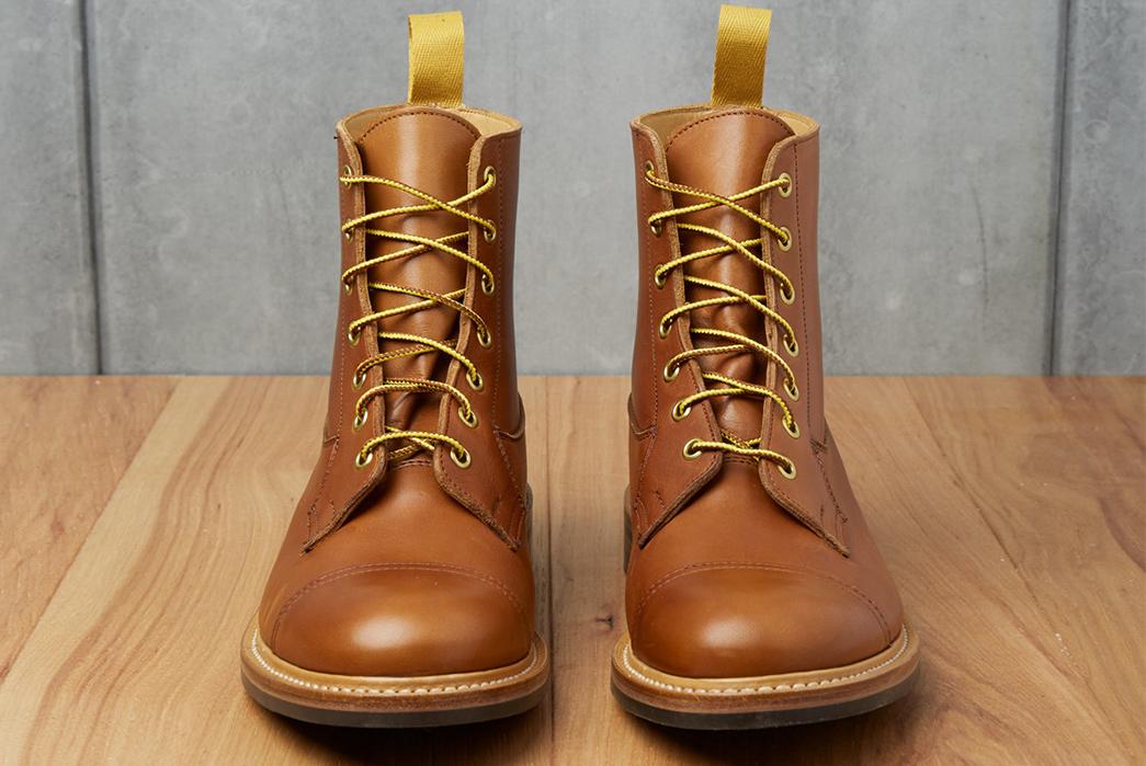 Tricker's-x-Division-Road-Allan-Cap-Toe-Boot-pair-front