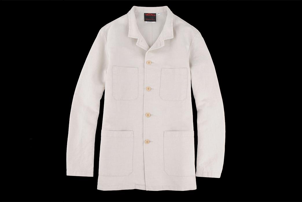 Vetra-Cotton-Linen-Twill-Nehru-Collar-Workwear-Jacket-front