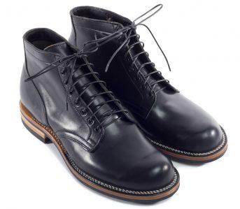 Viberg-Black-Horsebutt-Service-Boot-front-top-side