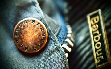 Barbour-Brand-Profile---History,-Philosophy,-and-Key-Products-Barbour's-famous-waxed-cotton-and-hardware.-Image-via-Barbour.