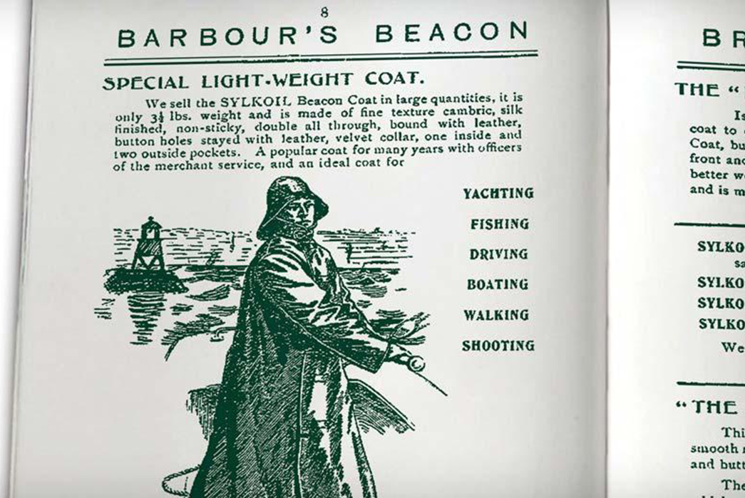 Barbour-Brand-Profile---History,-Philosophy,-and-Key-Products-The-Founder-himself,-John-Barbour.-Barbour's-first-mail-order-catalogue.-Image-via-Barbour