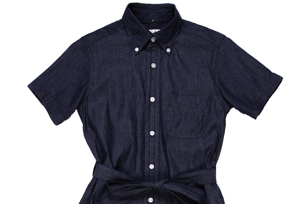 Engineered-Garments-FWK-BD-Shirt-Dress-front-detailed